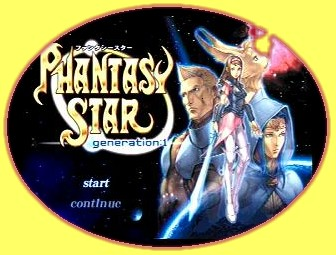 Phantasy Star Generation 1