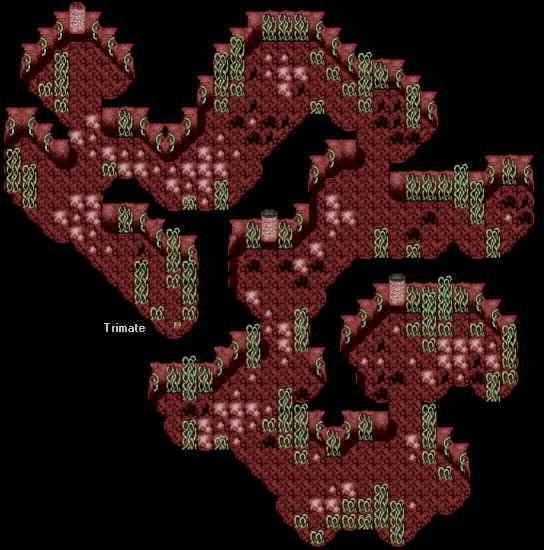 Phantasy Star 4 World Map.Phantasy Star Cave Phantasy Star 4 Garuberk Tower