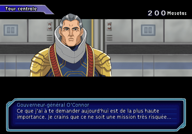 Phantasy Star Cave - Phantasy Star Generation 2 French Translation